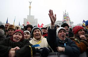 Jubileuszowy wiec na Majdanie Niepodległości