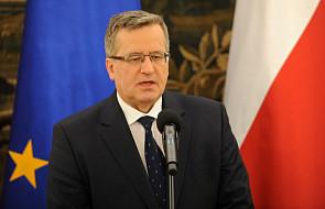 Komorowski: w NATO, UE i RBN o Ukrainie