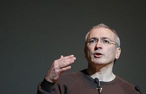 """Chodorkowski proponuje """"opcję szkocką"""""""