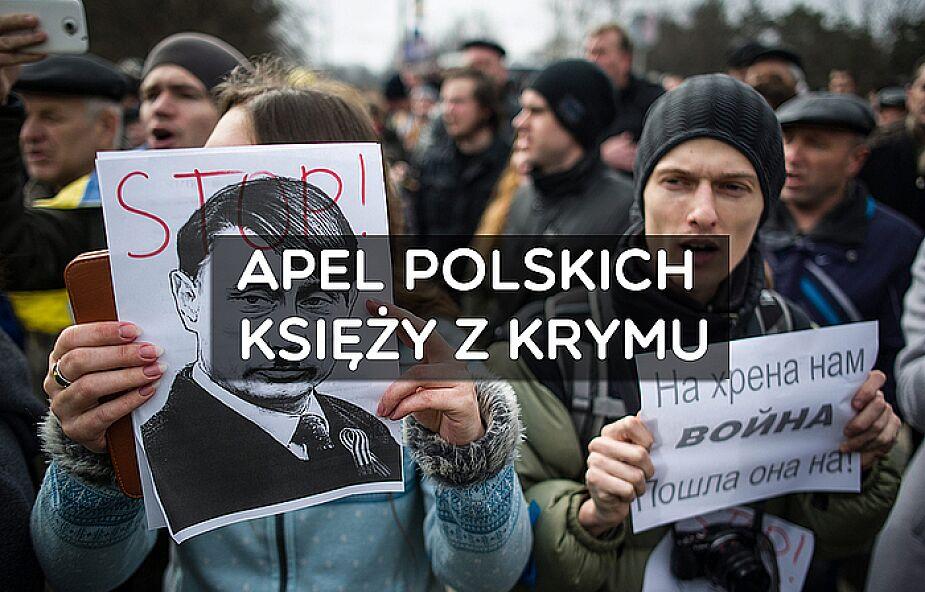 Krym: apel polskich księży o pomoc