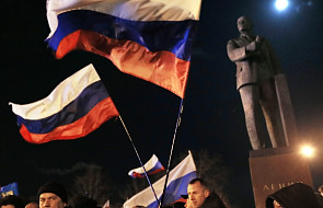 Japonia wzywa Rosję, by nie anektowała Krymu