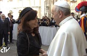Pracowity poniedziałek papieża Franciszka