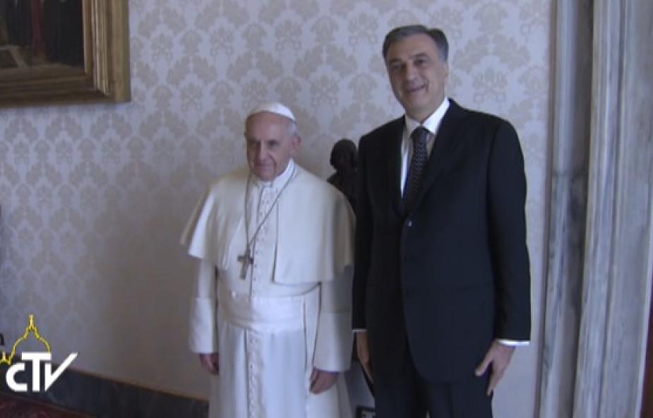 Prezydent Czarnogóry z wizytą w Watykanie