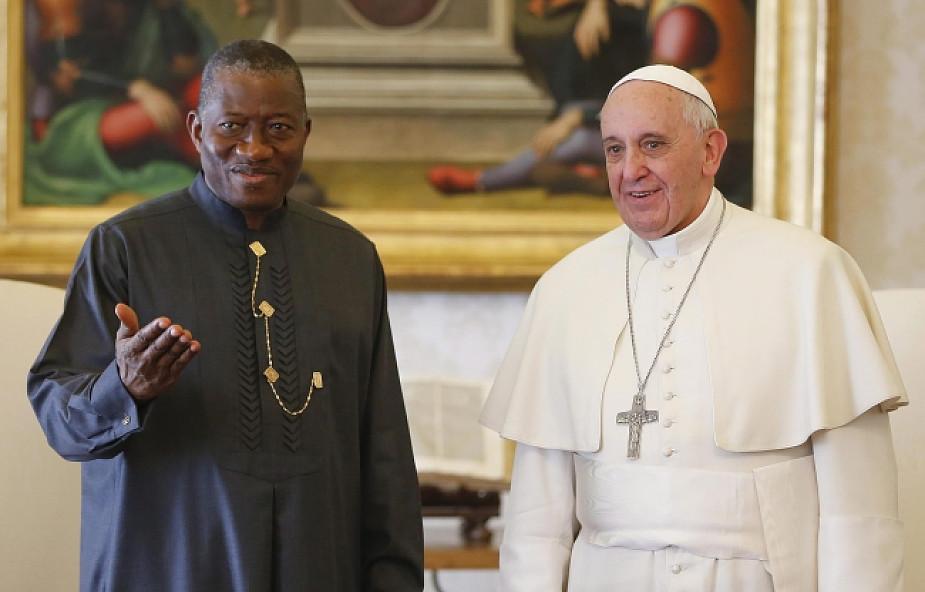 Papież Franciszek przyjął prezydenta Nigerii