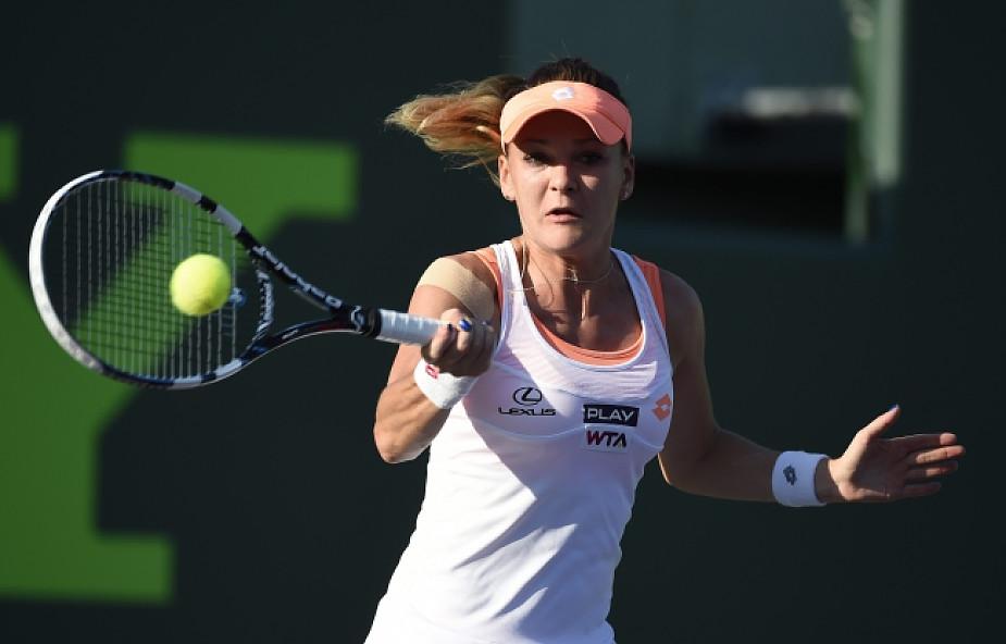 Turniej WTA w Miami: Radwańska w 1/8 finału