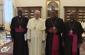 Spotkanie papieża z biskupami Gwinei