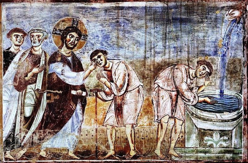 Rekolekcje z ikoną - Jezus uzdrawia niewidomego - zdjęcie w treści artykułu nr 2