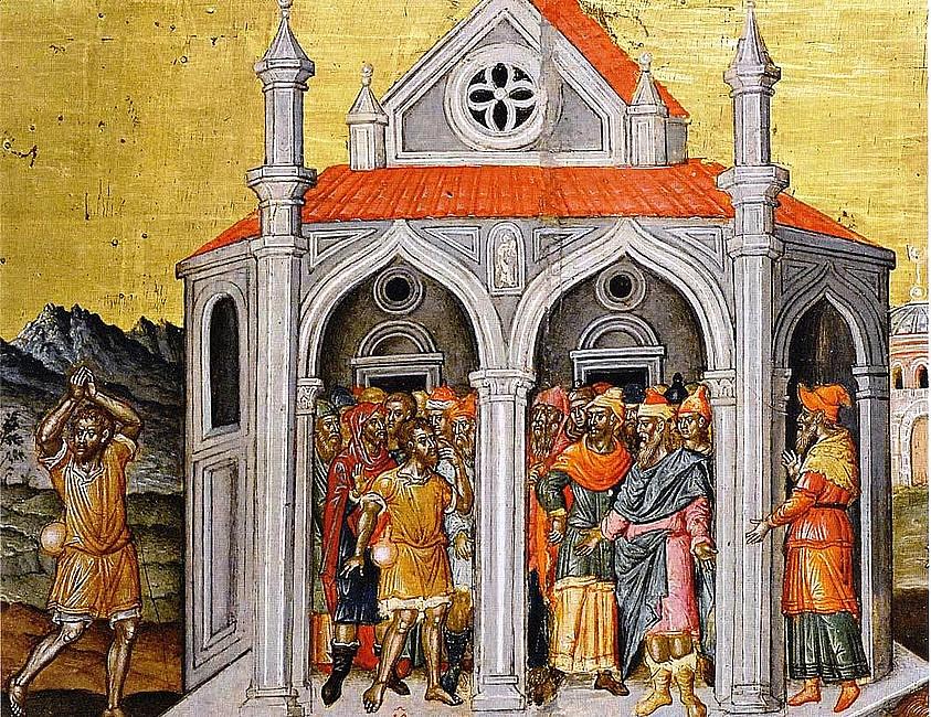 Rekolekcje z ikoną - Jezus uzdrawia niewidomego - zdjęcie w treści artykułu nr 1