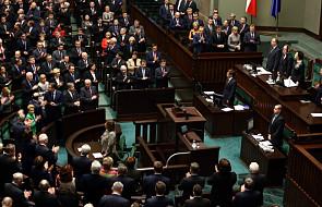Sejm przyjął uchwałę ws. solidarności z Ukrainą