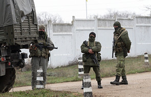 Jednostka ukraińska po ataku rosyjskim