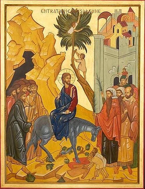 Rekolekcje z ikoną - Wjazd Jezusa do Jerozolimy - zdjęcie w treści artykułu nr 1