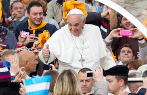 Papież znowu psuje nastrój