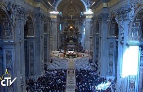 Franciszek wezwał księży, by żyli radością kapłańską
