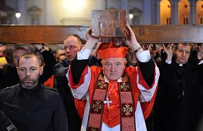 Kard. Nycz: Dziś towarzyszył nam Jan Paweł II