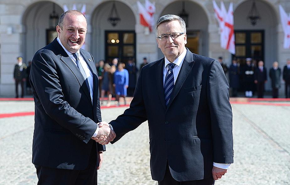 """""""Polska wspiera aspiracje Gruzji do UE i NATO"""""""