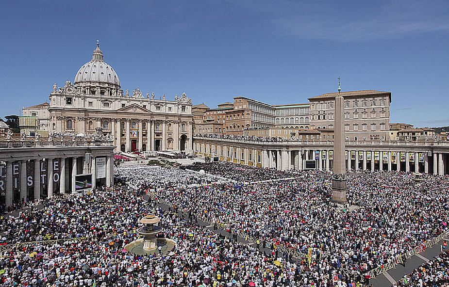 Pierwsza kanonizacja papieża od 60 lat