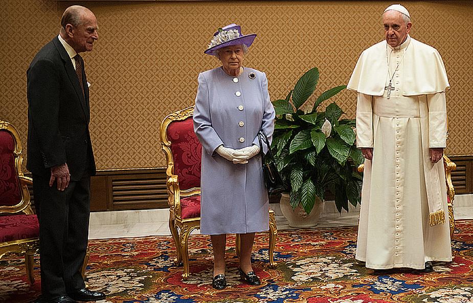 Królowa Elżbieta II z wizytą u papieża