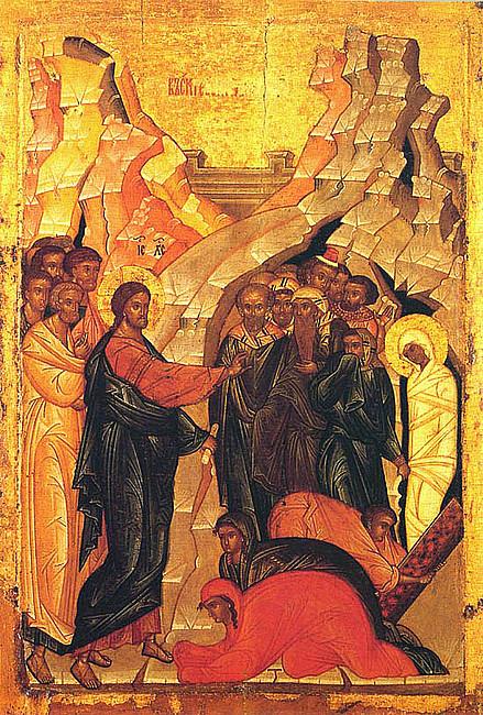 Rekolekcje z ikoną - wskrzeszenie Łazarza - zdjęcie w treści artykułu nr 1