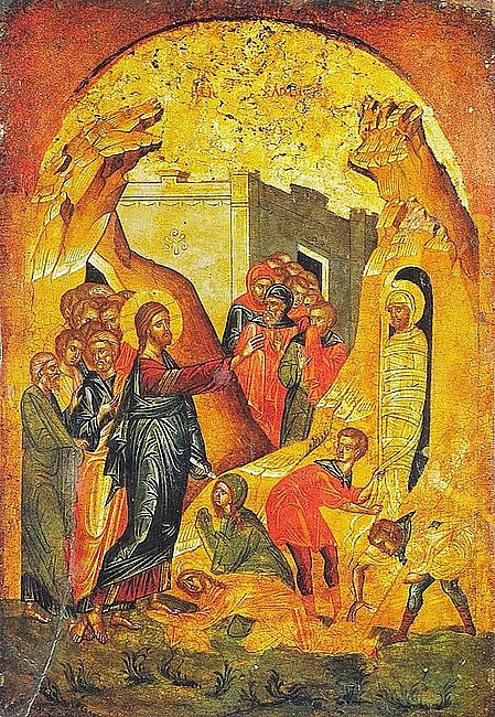 Rekolekcje z ikoną - wskrzeszenie Łazarza - zdjęcie w treści artykułu nr 2