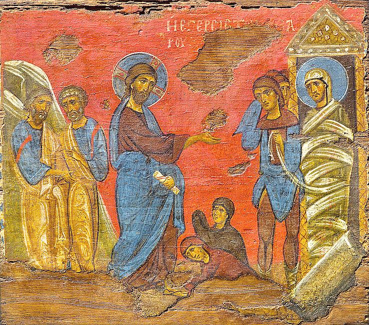 Rekolekcje z ikoną - wskrzeszenie Łazarza - zdjęcie w treści artykułu