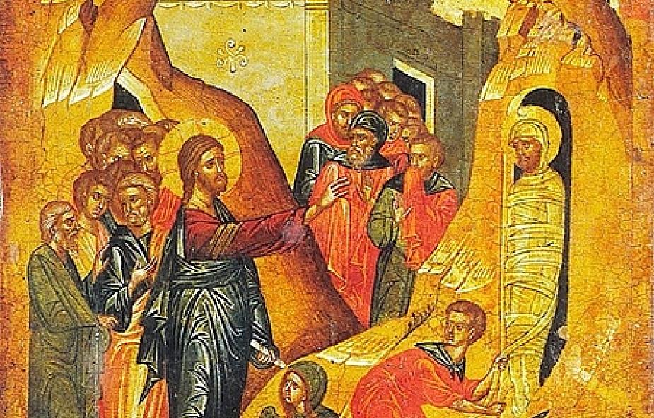 Rekolekcje z ikoną - wskrzeszenie Łazarza