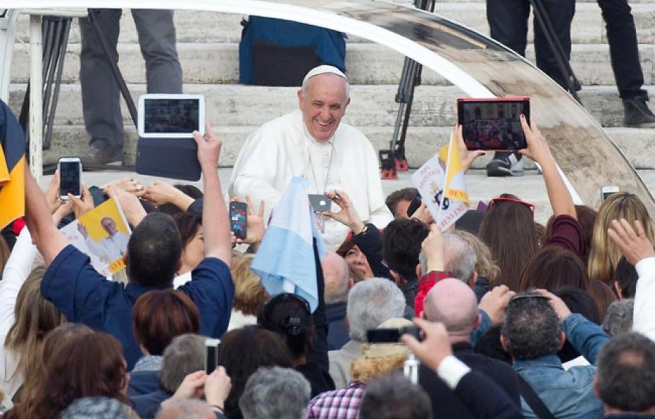 Cykl katechez papieża o darach Ducha Świętego