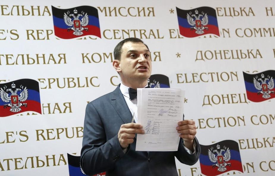 Donieck i Ługańsk ogłaszają suwerenność