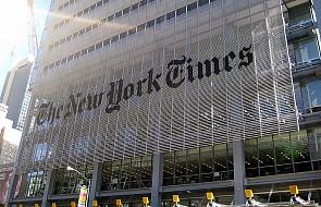"USA: nagła zmiana redaktora naczelnego ""NYT"""