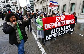USA: Pierwszomajowy marsz imigranta