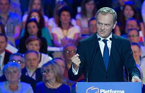 Tusk: spór o przyszłość Polski - między PO a PiS