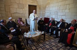 Historyczna wizyta papieża Franciszka