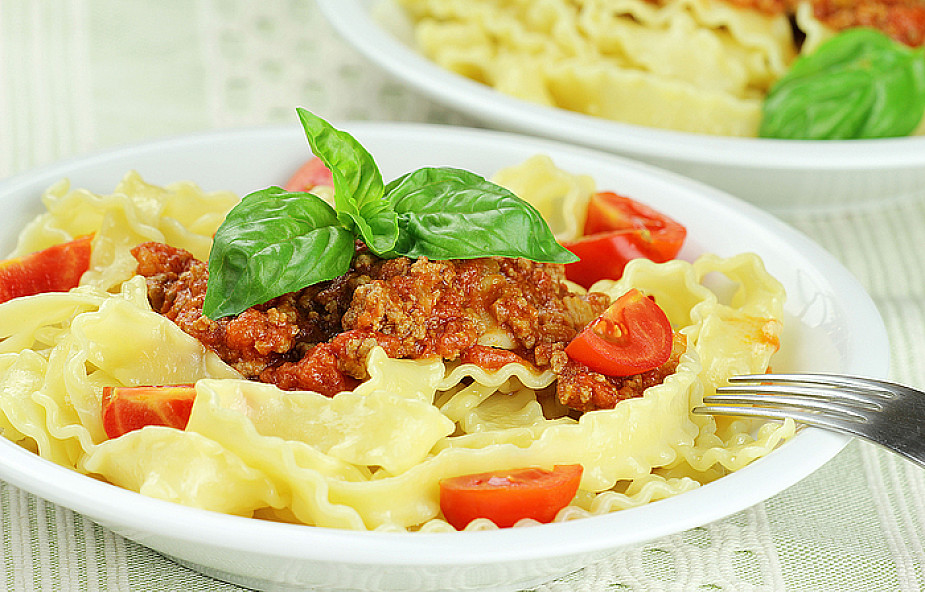 Reginette z sosem z suszonych pomidorów