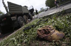 Strzelanina w pobliżu siedziby SBU w Doniecku