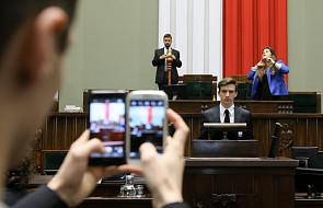 O tym dzieci i młodzież dabatowała w Sejmie