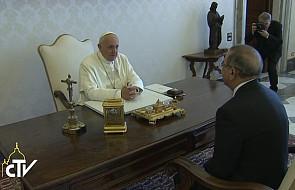 Prezydent Dominikany u papieża Franciszka
