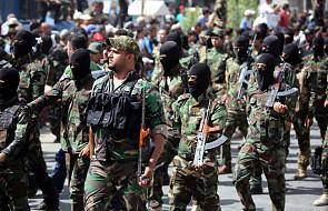 Demonstracja szyickich bojówek w Bagdadzie