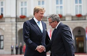 Prezydent z królem Holandii o przyszłości NATO