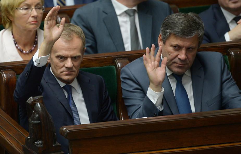 Sejm udzielił rządowi wotum zaufania