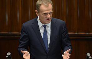 Posłowie pytali, premier odpowiadał