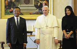 Papież spotkał się z prezydentem Madagaskaru