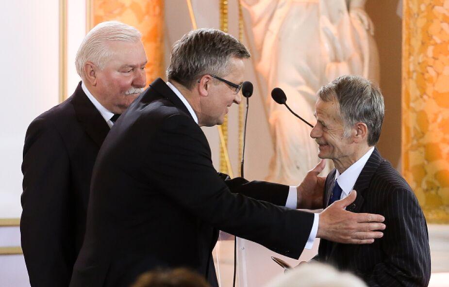 Dżemilew odebrał Nagrodę Solidarności