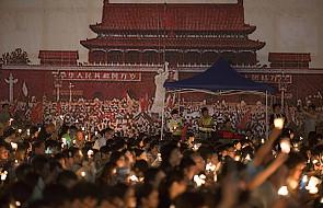 Hongkong upamiętnił masakrę z Tiananmen