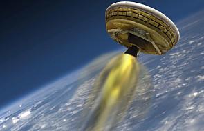 """NASA i test """"latającego spodka"""""""