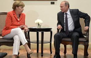 Merkel i Putin o sytuacji na Ukrainie