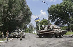 Ukraina: 13 zabitych, cywilów i żołnierzy