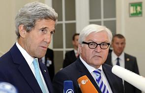 Steinmeier i Kerry o aferze szpiegowskiej