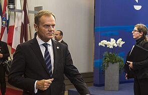 Tusk rozmawiał o obsadzie stanowisk w UE