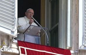 Franciszek: przemocy nie zwycięża się przemocą