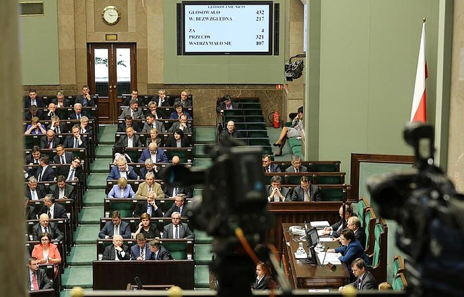 W środę w Sejmie wotum nieufności dla rządu