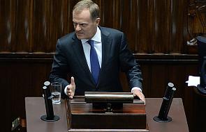 Tusk: Gliński nigdy nie będzie premierem